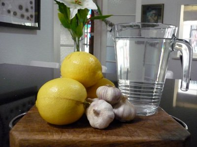 fokhagyma-citrom
