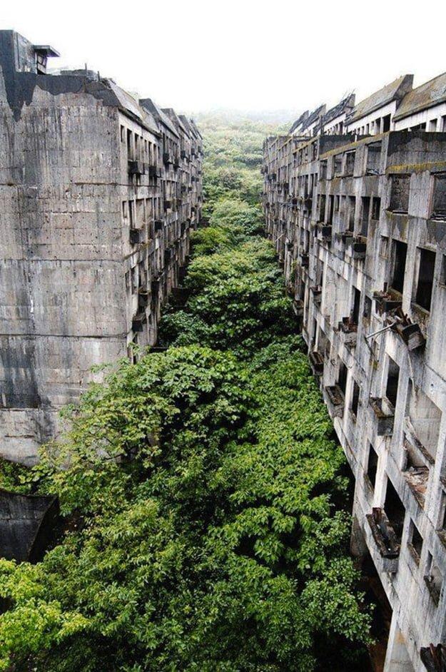 2. A tajvani Keelung elhagyatott városa