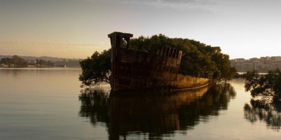 26. Az SS Ayrfield roncsa, Ausztrália