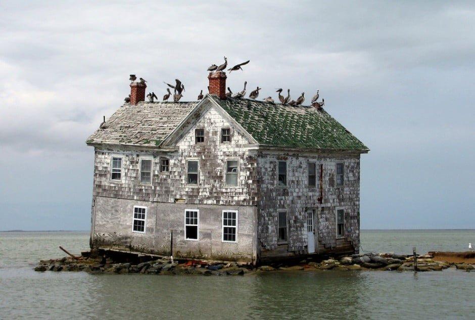 28. Holland Island, Chesapeake Öböl