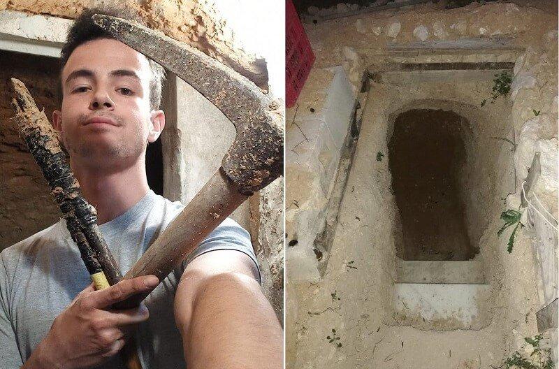 Egy fiatal összeveszett szüleivel, majd 6 évig ásta a saját földalatti házát!