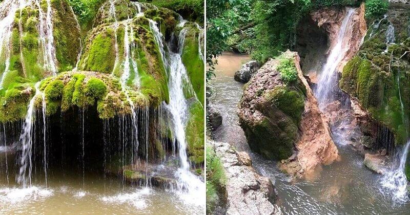 Leomlott a Bigér-vízesés, Románia egyik legszebb természeti látványossága