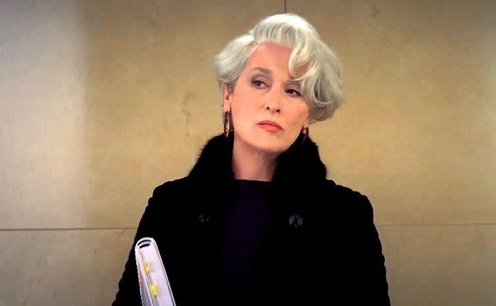 """Meryl Streep elárulta, hogy """"depressziós"""" volt, amikor Az ördög Pradát visel című filmben Miranda Priestly-t alakította!"""