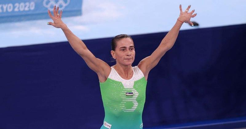 A 46 éves tornász a 8-dik, és egyben az utolsó olimpiáján vett részt!