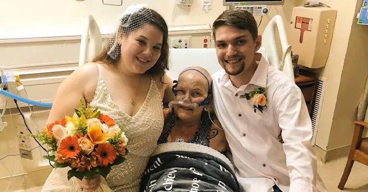 Kórházban szervezte meg az esküvőjét a menyasszony, hogy a súlyos beteg nagyi is részt vehessen rajta