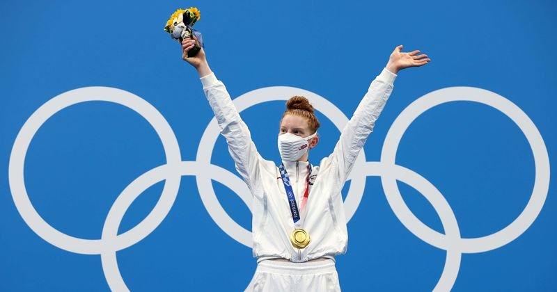 A szülővárosában azzal viccelődtek, hogy a 17 éves alaszkai úszó bálnákkal edz - a lány most olimpiai aranyat nyert