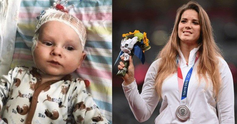 Az olimpiai bajnok, aki legyőzte a rákot, eladta az érmét, hogy megmentse egy kisfiú életét!