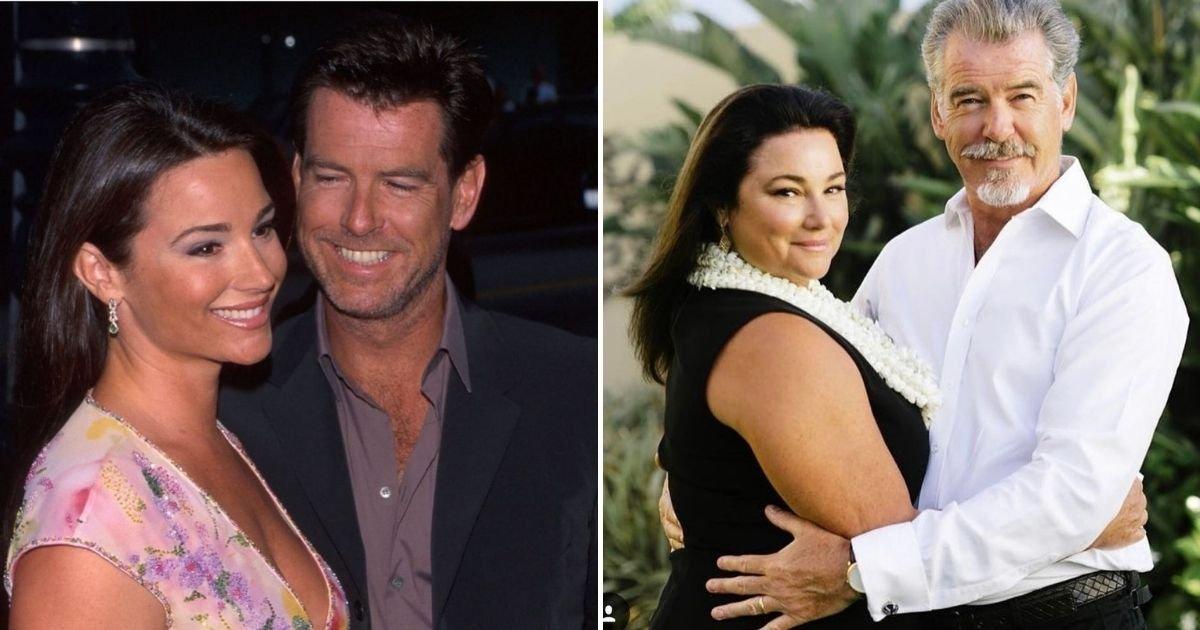 """Pierce Brosnan sok kritikát kap, amiért telt idomú nőt szeret, de ő megvédi szerelmét: """"Amikor rám néz, elgyengül a térdem"""""""