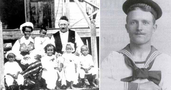 Carl Emil Pettersson, a tengerész, aki hajótöröttként érkezett egy kannibálok lakta szigetre, ahol király lett belőle