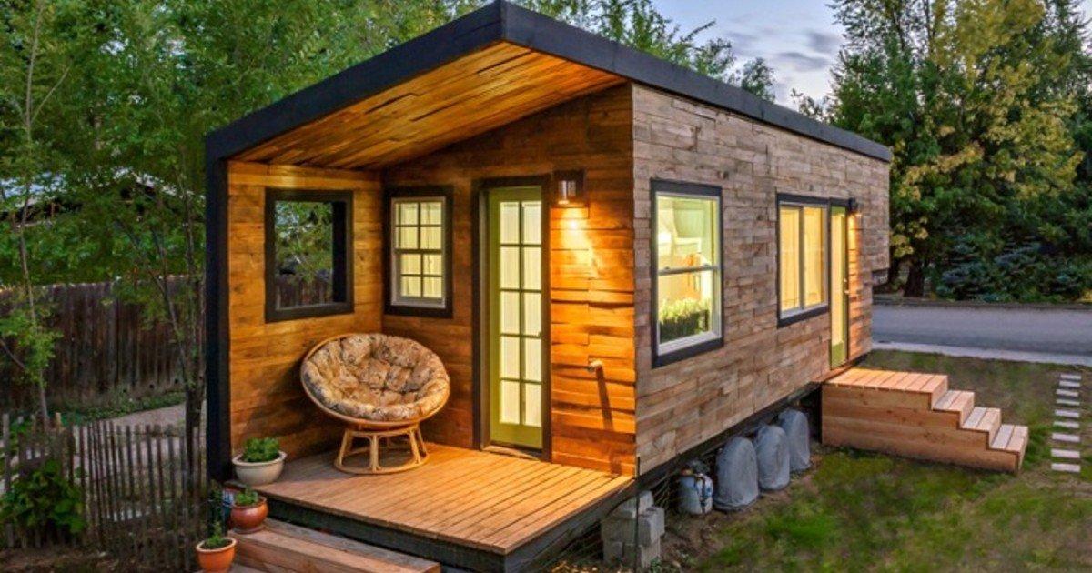 Így néz ki a 21 nm-es ház, amit egy nő álmodta meg, és építette fel!