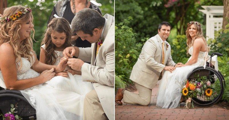 Lánybúcsúján szenvedett balesetet, lebénult a menyasszony: tíz éve boldog férjével, akivel most ismét egybekeltek