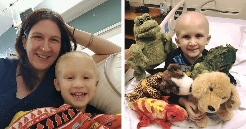 """A 4 éves rákos kisfiú halála előtt nem sokkal azt mondta az édesanyjának: """"várni foglak a Mennyországban!"""""""