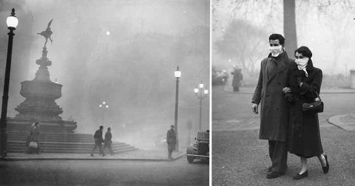 A nagy londoni szmog - a bizarr jelenség, ami emberek ezreit ölte meg mindössze néhány nap alatt